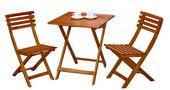 木頭折合桌